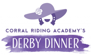 Logo for CORRAL Riding Academy Derby Dinner a Cary, NC nonprofit